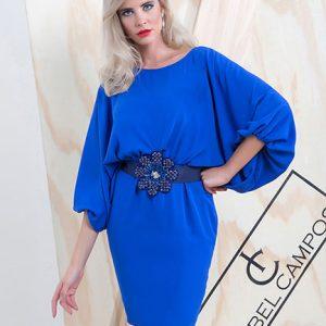 vestido fiesta outlet azul