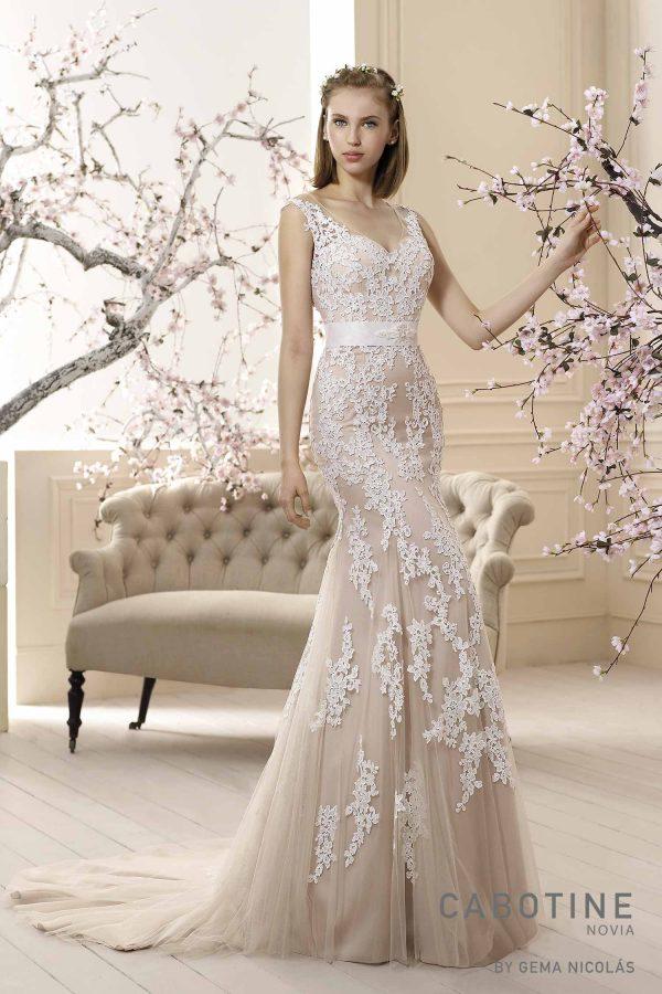 traje de novia barato de la marca cabotine novia