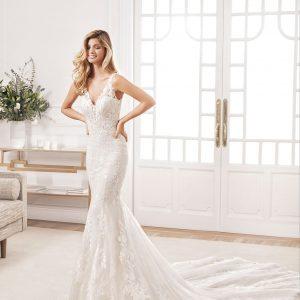 traje de novia corte sirena