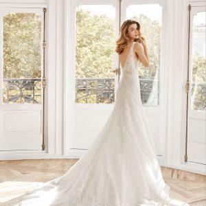 vestido de novia 2020, modelo nilsa